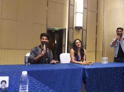 'Kabir Singh' concert: Shahid-Kiara get candid