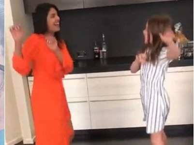 Watch: PC enjoys a dance session with Ava