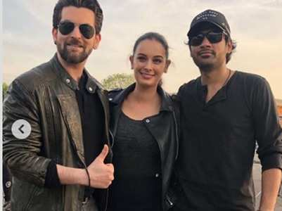 'Saaho': Neil Nitin Mukesh wraps the shoot