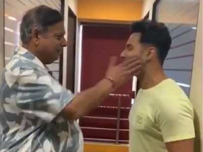 Varun shares a funny video on Father's Day