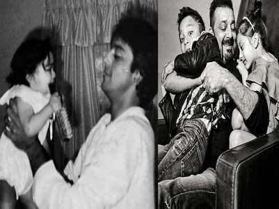 Sanjay Dutt's special post for his kids & dad