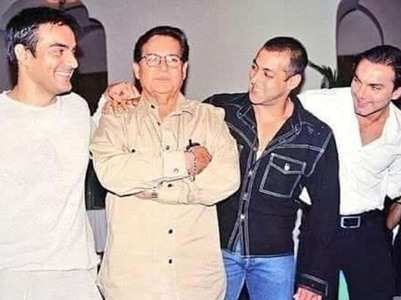 Salman shares a throwback pic on Father's day