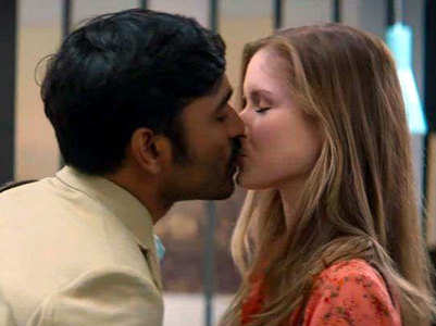 Dhanush on fans' reactions to lip-lock scene