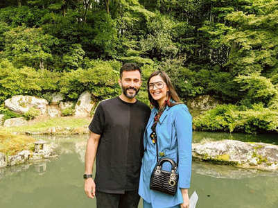 Photos from Sonam-Anand's Japan getaway