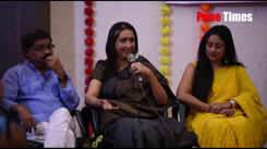 Actress Neena Kulkarni playing Swapanil Joshi's mother in a movie Mogara Fulala