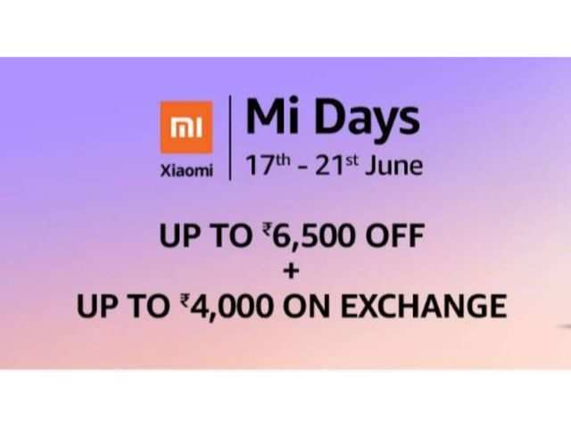 Mi Days on Amazon: Get up to Rs 6,500 off on Redmi Y3, Mi A2, Redmi Note 5 Pro and more