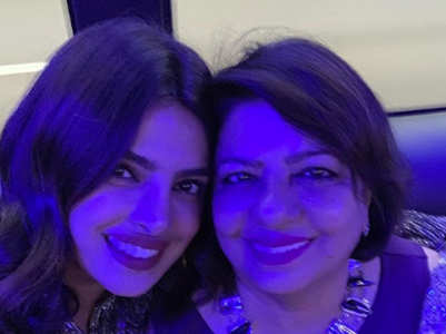 Nick-Priyanka's b'day posts for Madhu Chopra
