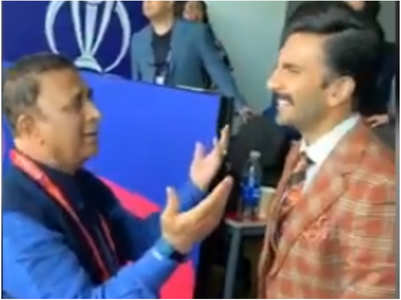 Ranveer & Gavaskar groove to THIS iconic song