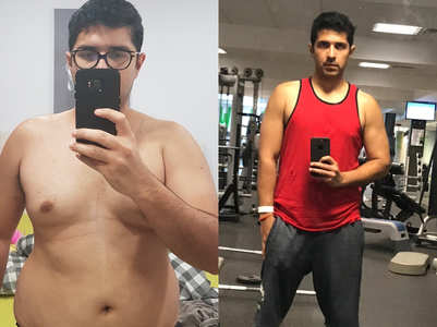 This guy lost a MASSIVE 20 kilos in just 6 months!