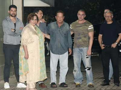 Pics: Celebs at Sohail's son Yohan's B'day bash
