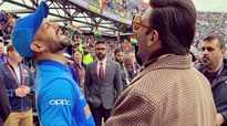 Ranveer &Shikhar Dhawan's perfect candid click