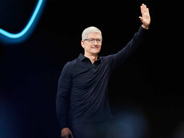 Apple CEO Tim Cook says Facebook, Google need to take responsibility for the 'chaos' they've created