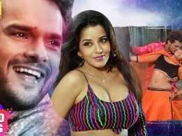 Watch: Monalisa and Khesari Lal Yadav's Bhojpuri song 'Mangiya Saja Ke Dulhiniya Bana La' from 'Latkhor'