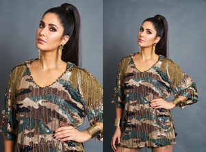 Did you miss Katrina Kaif's SEXY camouflage dress?