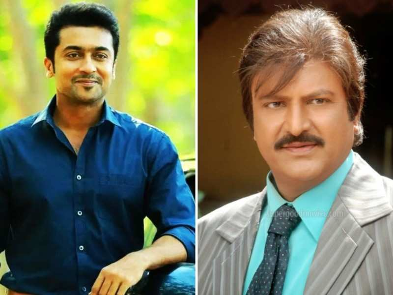 Such a pleasure to be on sets with Mohan Babu: Suriya