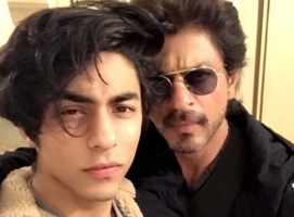 SRK glad he voiced 'Lion King' with son Aryan