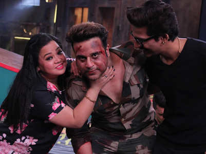 Krushna pays a surprise visit to Bharti