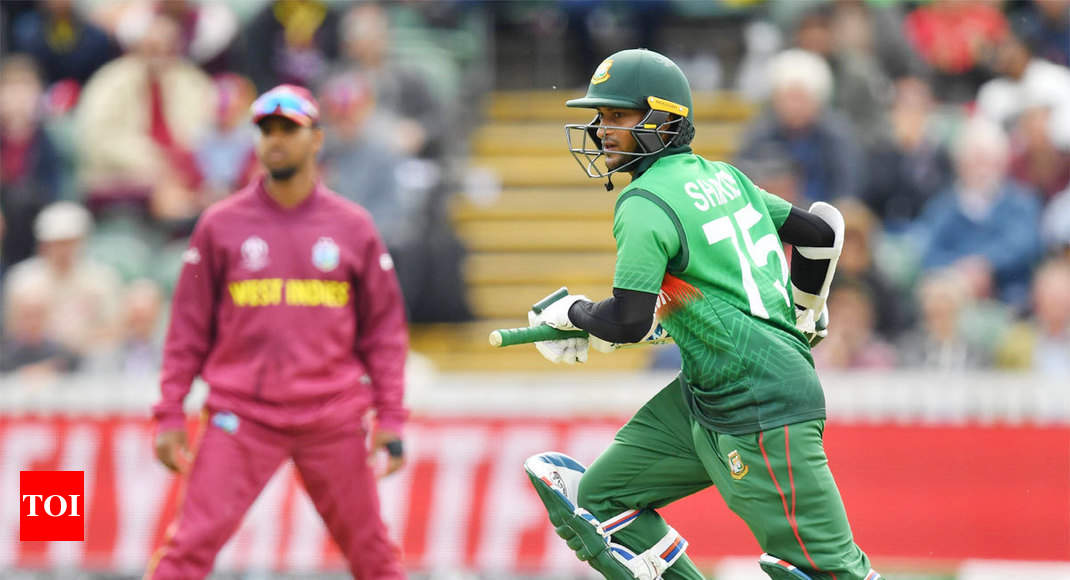 West Indies vs Bangladesh Highlights, World Cup 2019: Shakib Al Hasan hits century as Bangladesh beat West Indies by 7 wickets