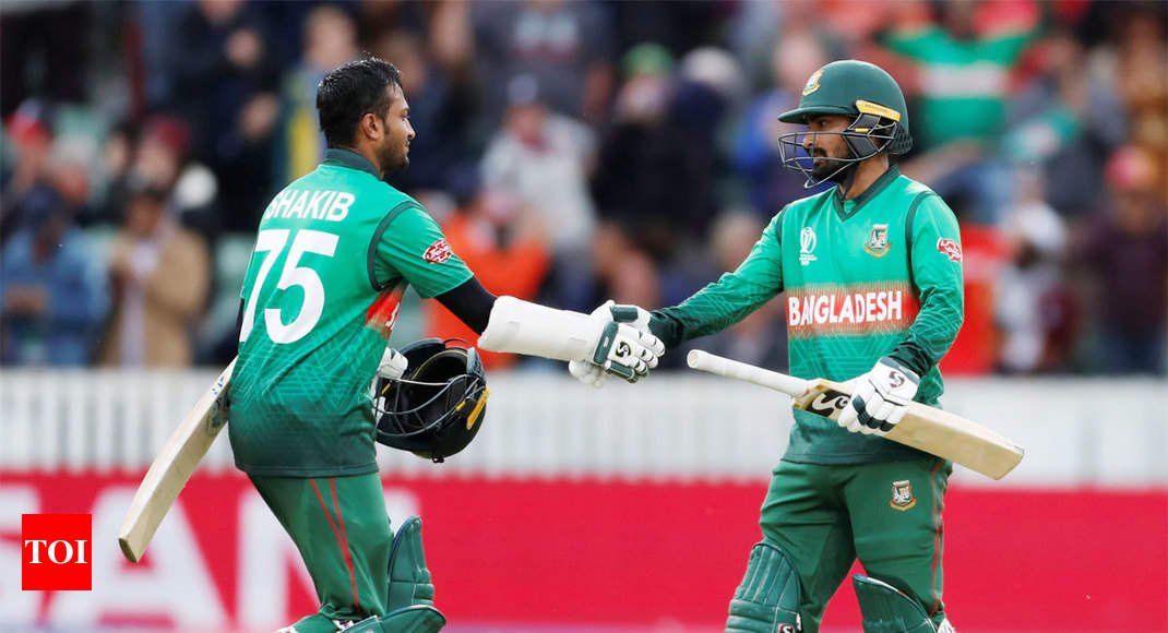 West Indies vs Bangladesh, World Cup: Shakib Al Hasan, Liton Das star as Bangladesh beat West Indies by 7 wickets