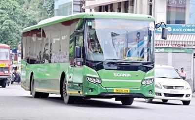 Jolt to NMC: Scania shifts green buses | Nagpur News - Times