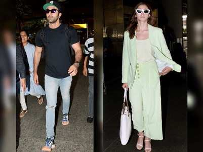 Photos: Ranbir and Alia are back in Mumbai