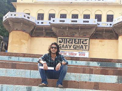 Kinshuk Vaidya shoots in Varanasi!