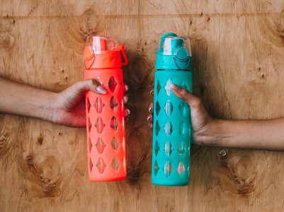 How often should you wash the reusable water bottle