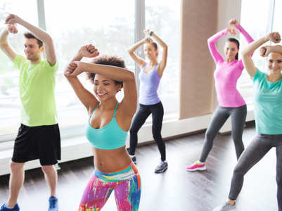 Zumba burns these many calories in a minute