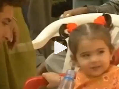 Watch: This childhood video of Sara Ali Khan