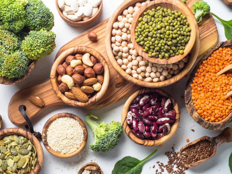 How vegetarians can add more protein to their diet: Kavita Devgan shares  tips - Times of India