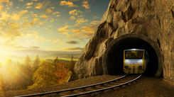 A train to Leh from Delhi!