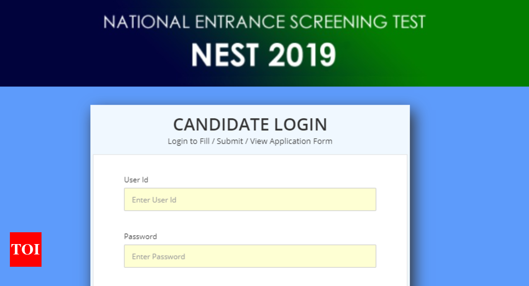 NEST Result 2019 declared @nestexam in, here's link to check