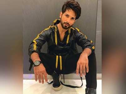 Kabir Singh promotions: Shahid shares his look