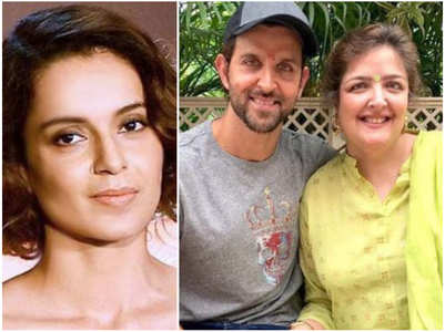 Hrithik's sister Sunaina tweets about Kangana