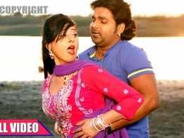 Watch: Pawan Singh and Priyanka Singh's hit Bhojpuri song 'Odhani Se Maar Debe Lu'