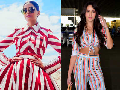 How to wear stripes for every body shape