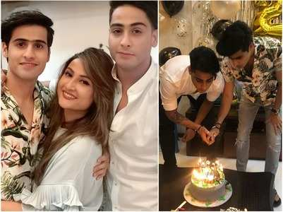 Urvashi celebrates her twin boys birthday
