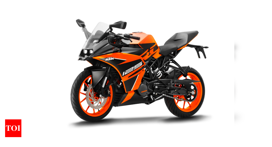 Ktm Rc 125 Abs Launched At Rs 1 47 Lakh Times Of India