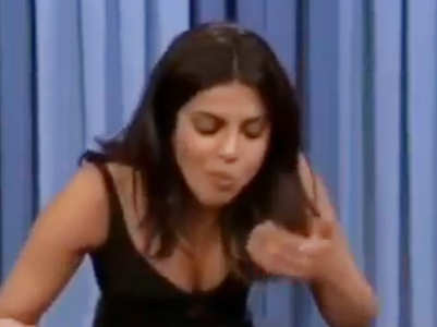 Priyanka binges on hot wings in this video