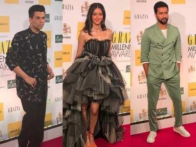 Celebs attend Grazia Millennial Awards 2019