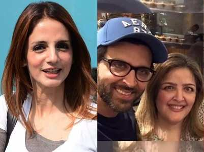 Sussanne Khan comes out in support of Hrithik