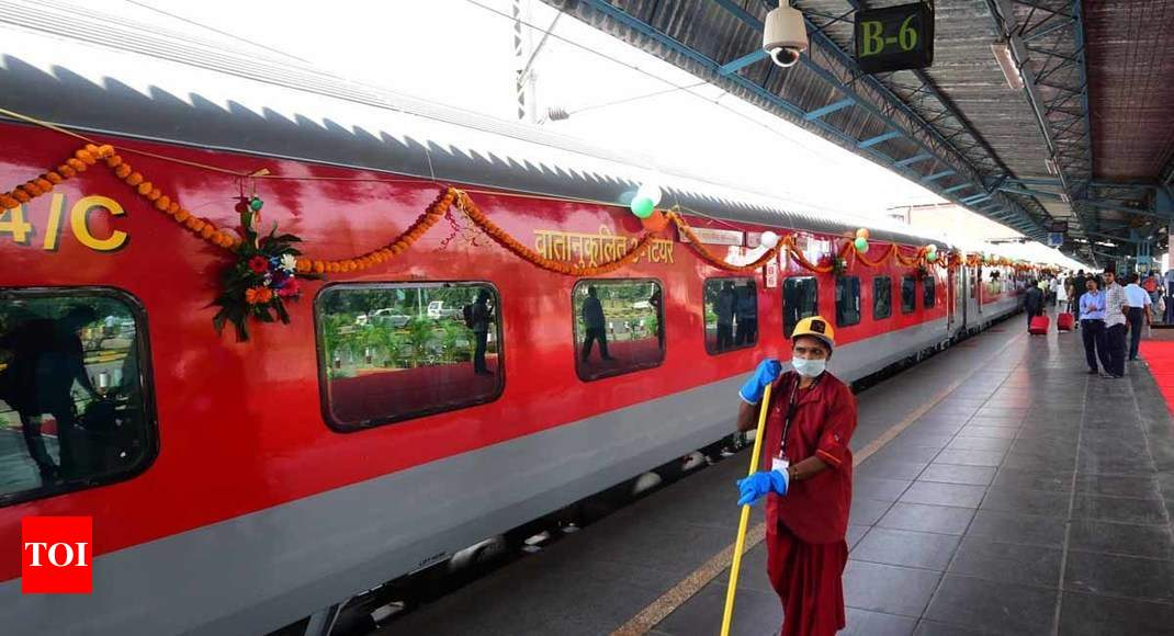 Delhi-Mumbai in 10 hours by train?   India News - Times of India