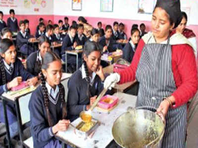 Mid day meal scheme in hindi in rajasthan