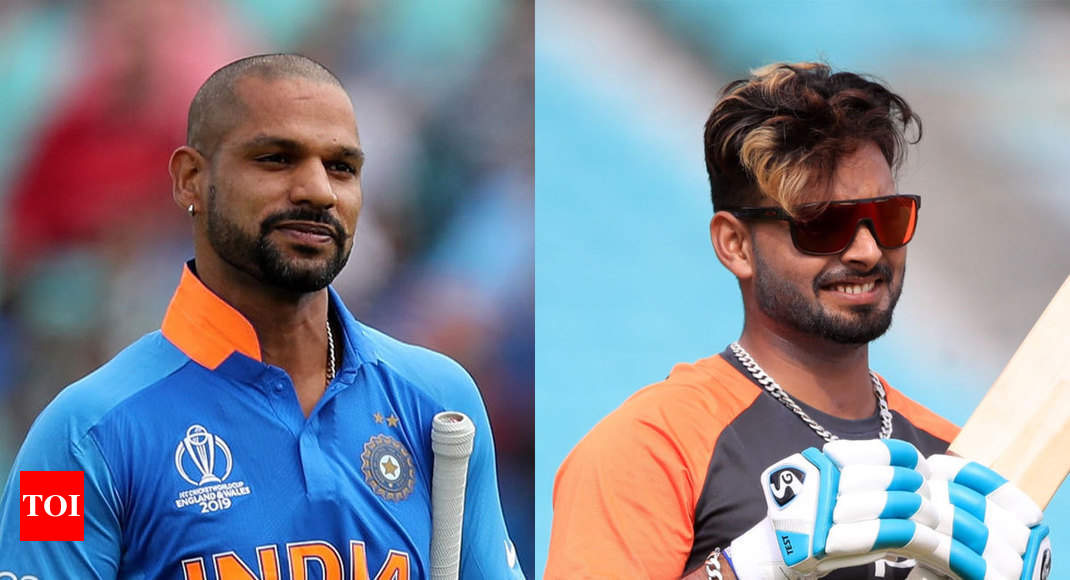 Shikhar Dhawan out of World Cup, Rishabh Pant steps in