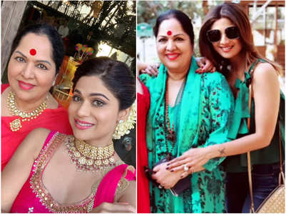Shilpa-Shamita's b'day wish for their mother