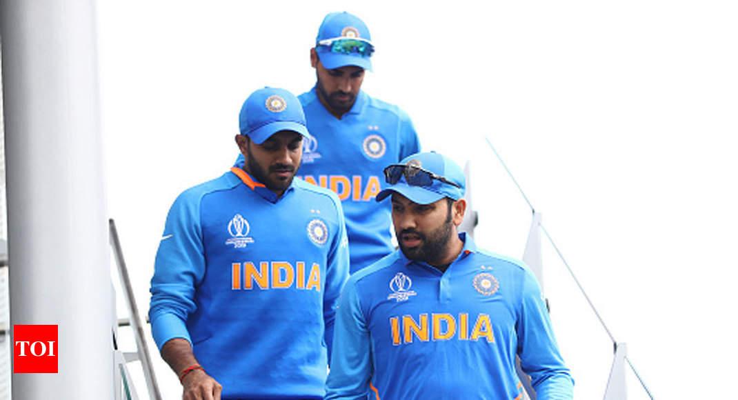 Team India Orange Jersey Men In Blue To Go Orange Against