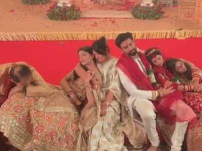 Sushmita-Rohman dance on 'Nachde Ne Saare'