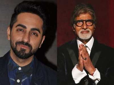 Ayushmann on sharing screen space with Big B