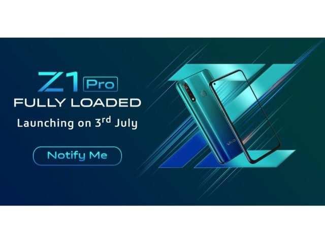 Vivo Z1 Pro's India launch date announced
