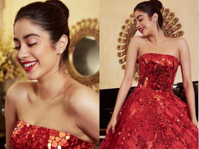 How to match your lipstick with your outfit like Janhvi Kapoor